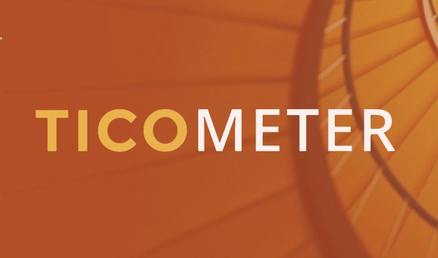 Orange Ticometer trauma informed care assessment logo